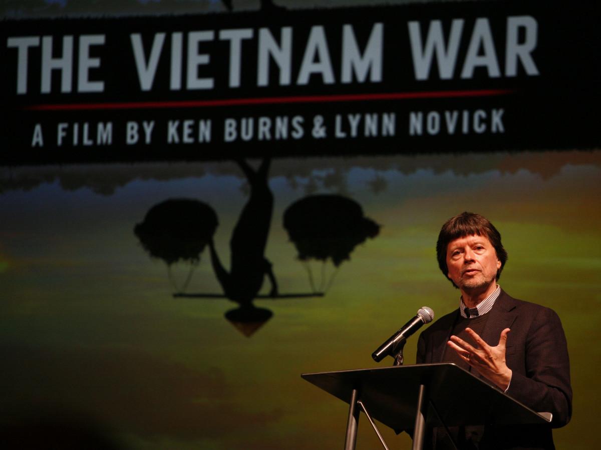 Ken Burns discusses The Vietnam War at Houston Public Media session
