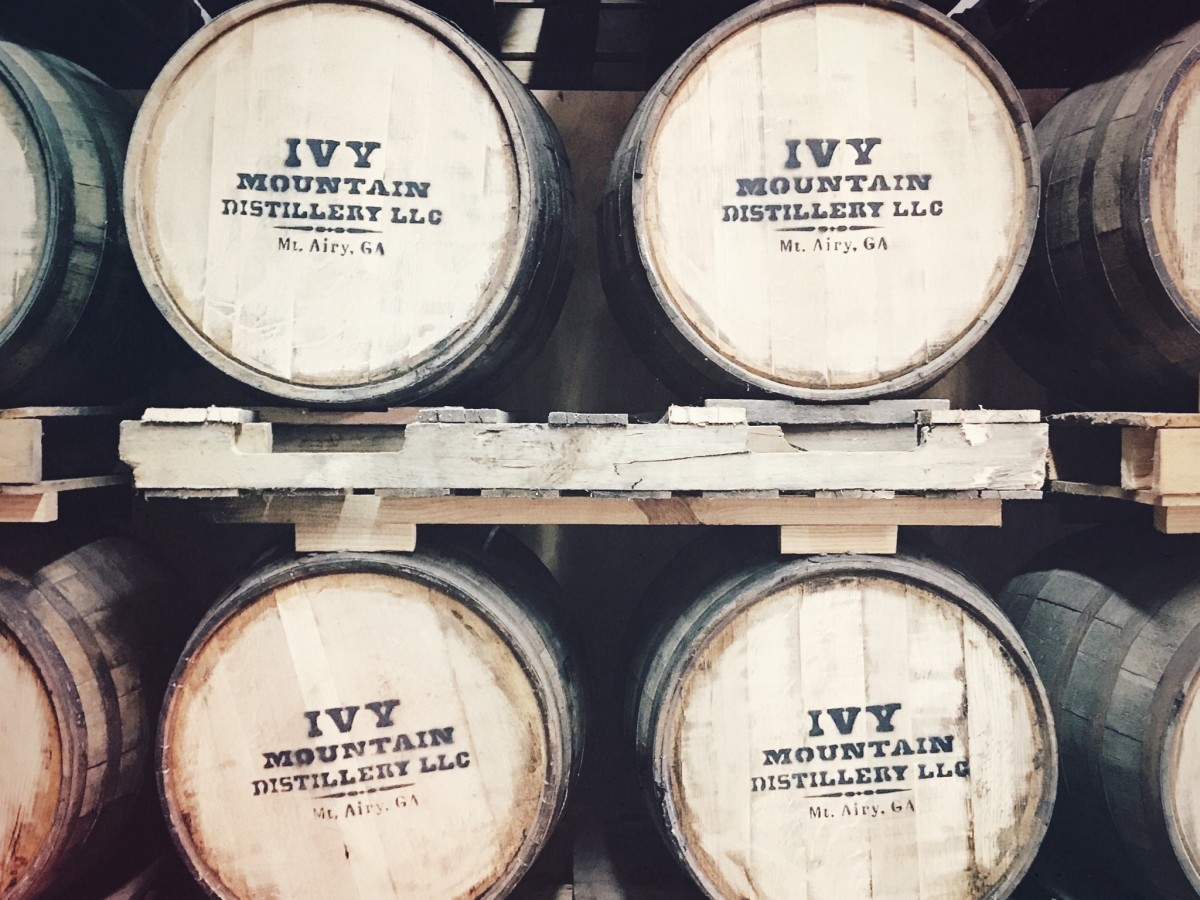 Indianola Distilling Ivy Mountain Appalachian American Whiskey Barrels