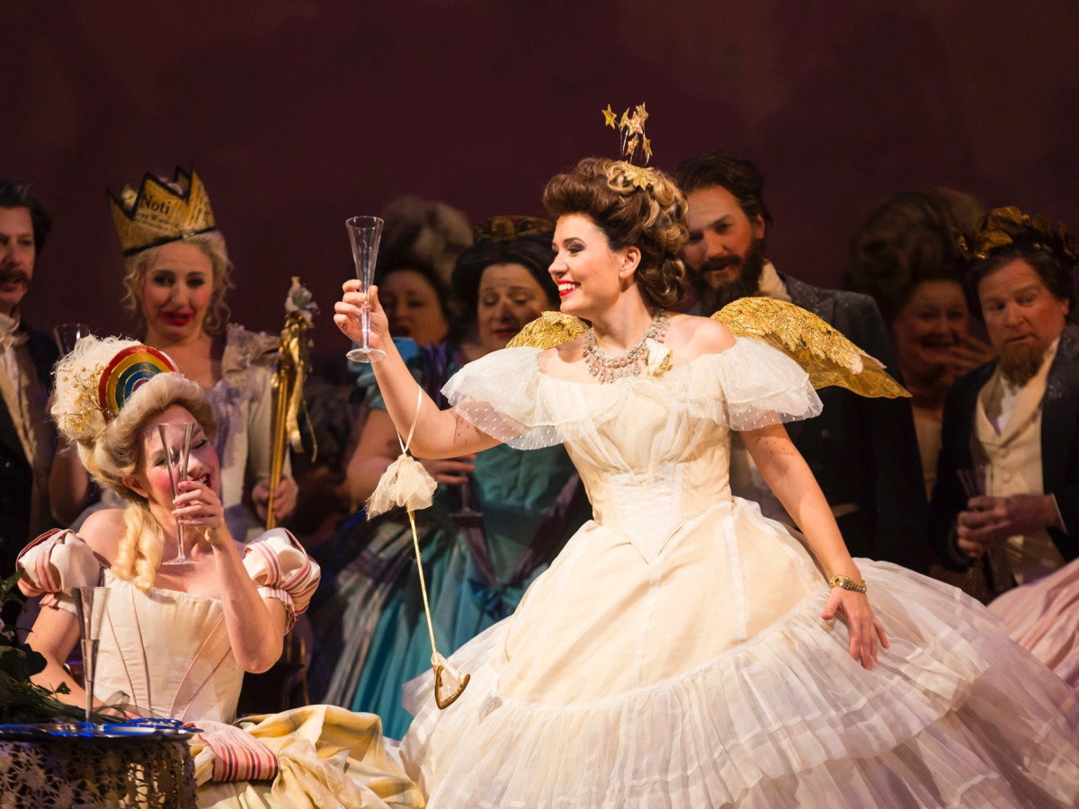 HGO: Marina Rebeka in La Traviata