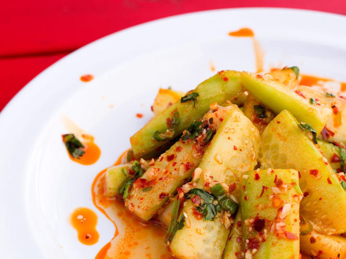 Monkey King Noodle Co. cucumber salad
