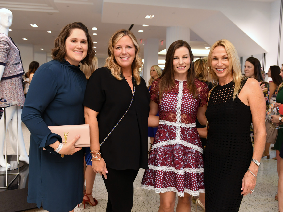 Houston, Women of Wardrobe Summer Soiree, August 2017, Kim Hartz, Melissa Sugulas, Alison Johnson, Melissa Dobrowski