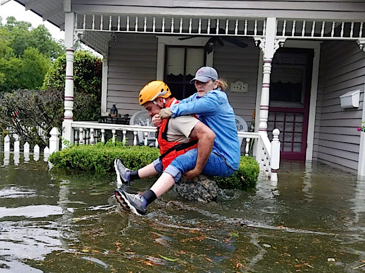 Houston, Hurricane Harvey, flood photos, first responders