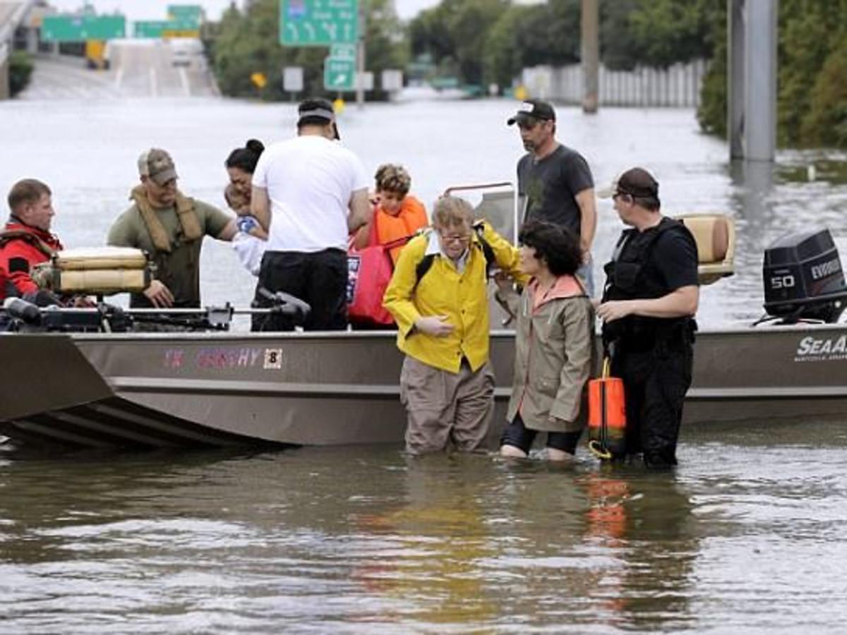 Houston, Hurricane Harvey, cajun army, August 2017