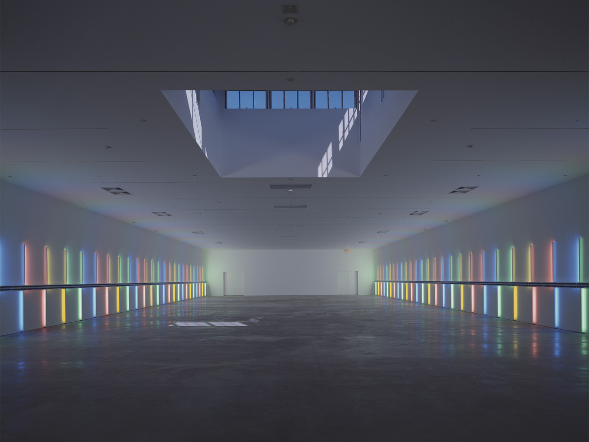 Menil Collection: Dan Flavin, untitled