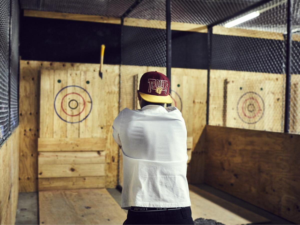 Urban Axes ax-throwing venue in Austin