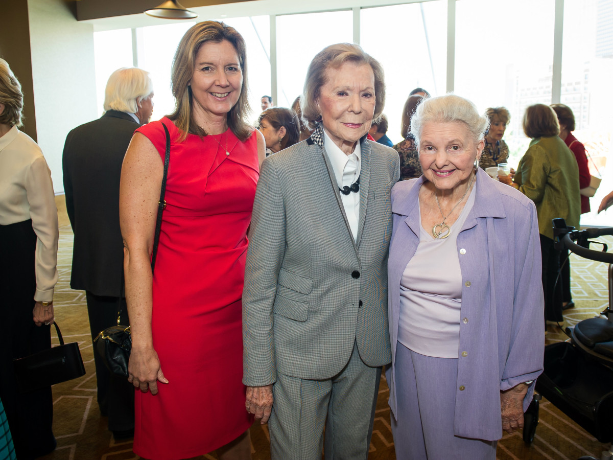 Lynn Mahurin, Ruth Sharp Altshuler, Caroline Rose Hunt