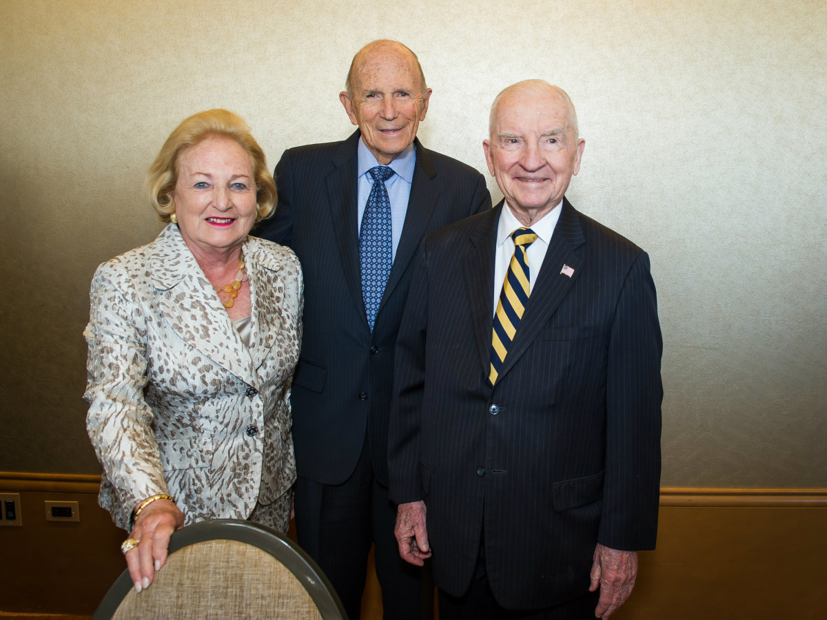 Margot Perot, Dr. Kenneth Cooper, Ross Perot