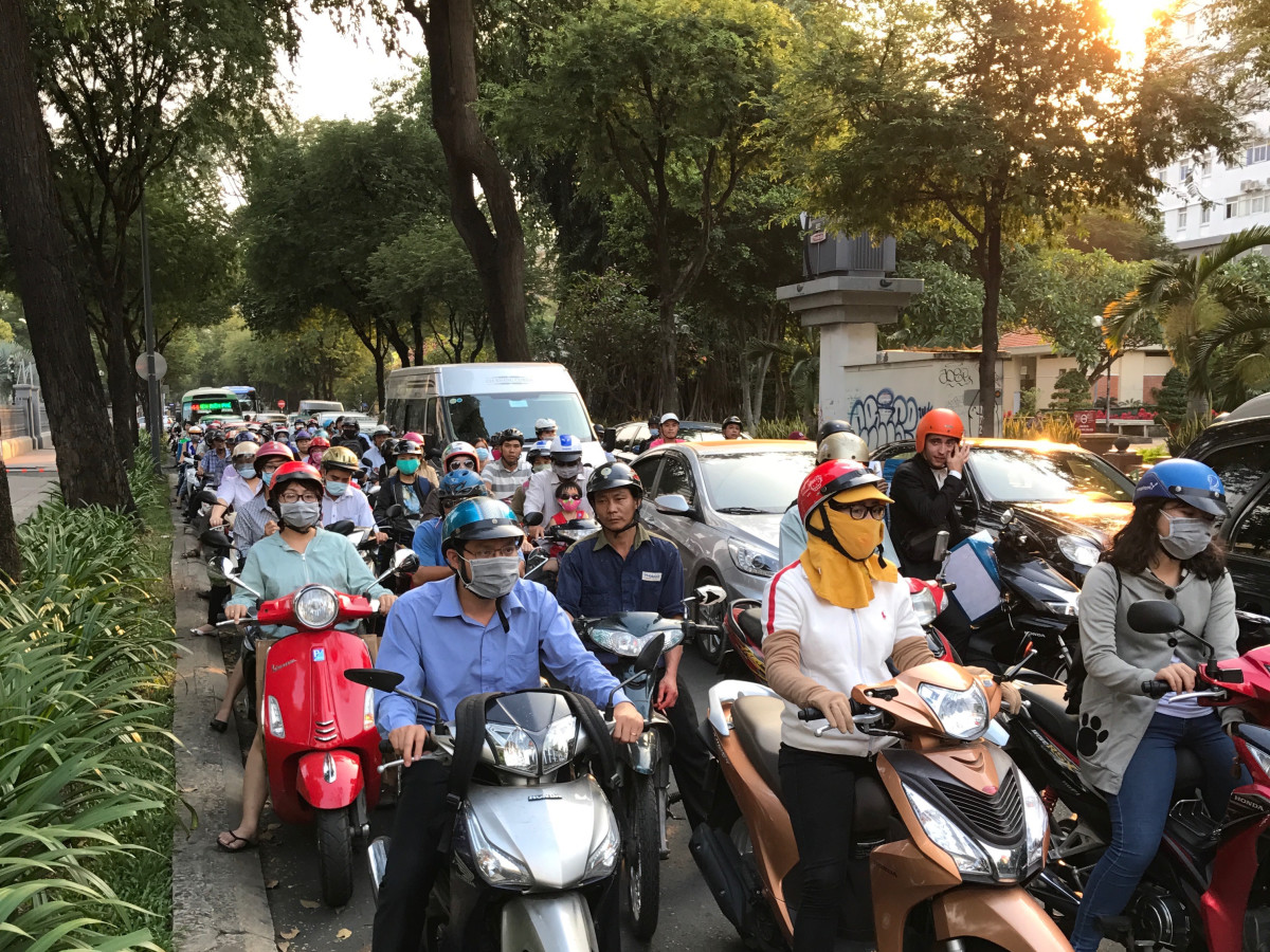 Saigon Stories: motorbikes