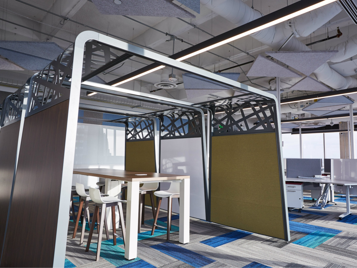 Google Austin office workspace