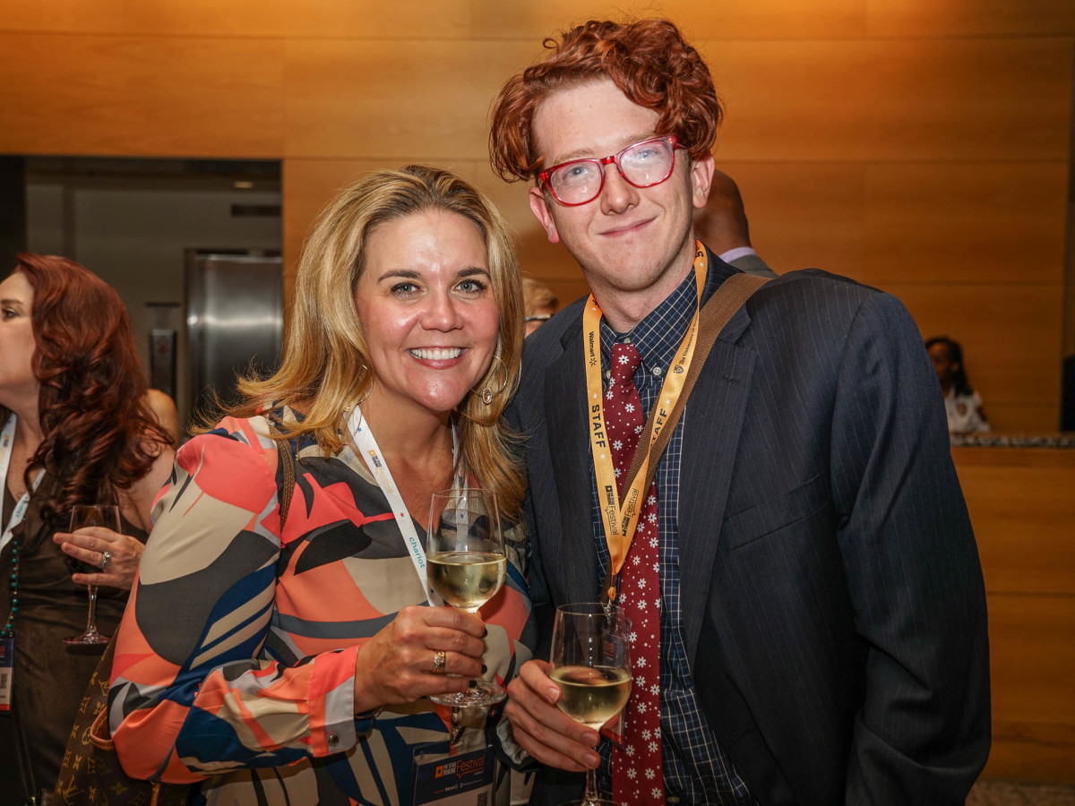 Texas Tribune Festival 2017 VIP Party at Harry Ranson Center Jennifer Sarver Bobby Blanchard