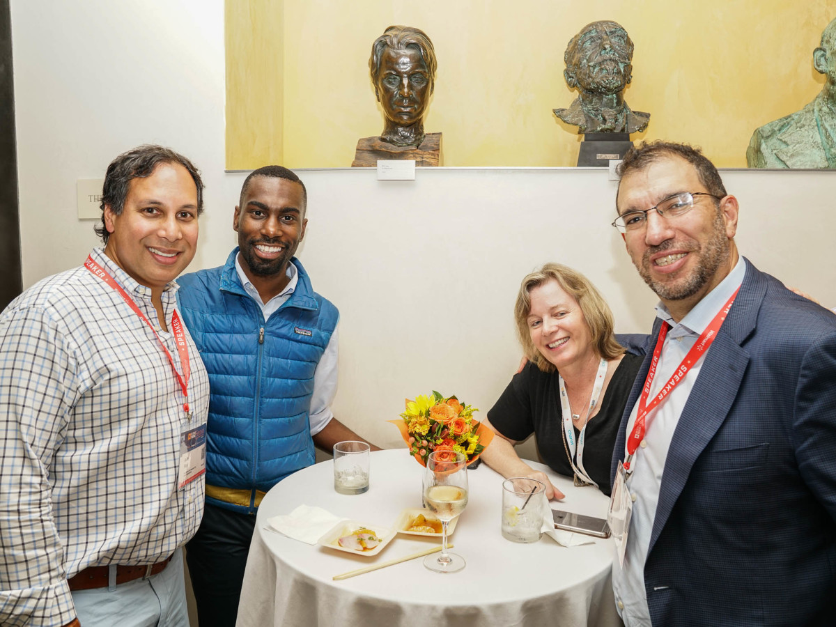 Texas Tribune Festival 2017 VIP Party at Harry Ransom Center Avik Roy Deray McKesson Lana Slavitt Andrew Slavitt