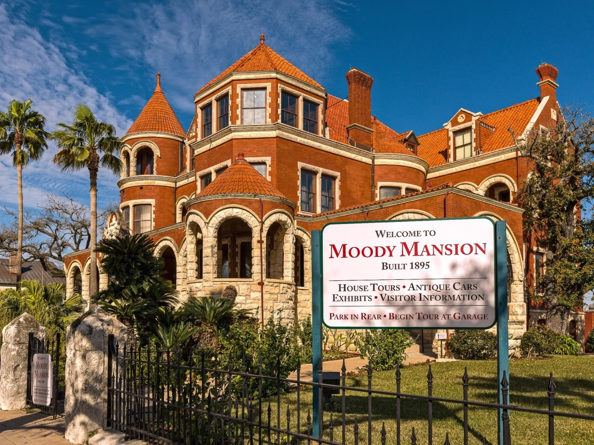 Moody Mansion in Galveston