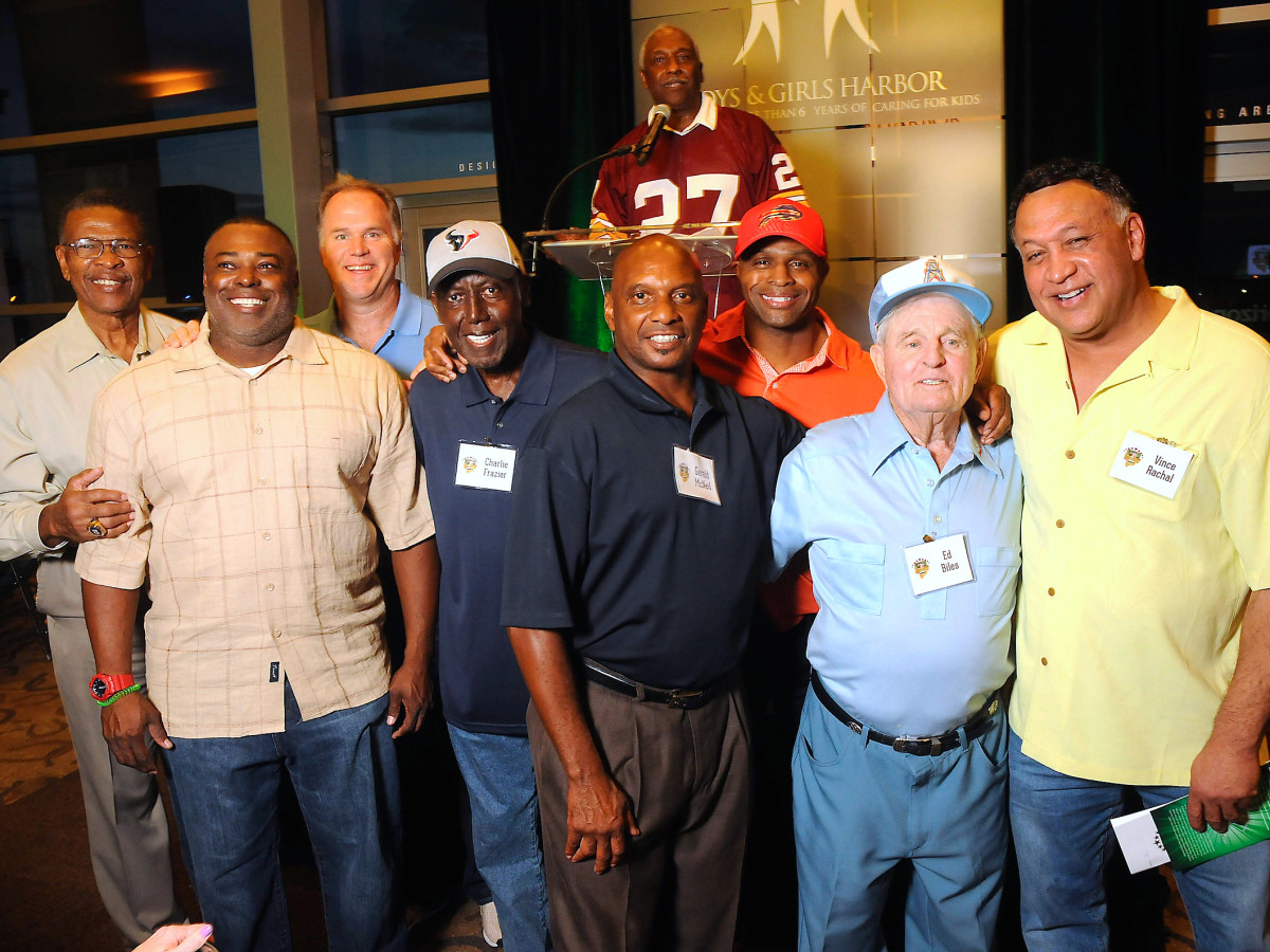 Houston, Boys and Girls Harbor Fantasy Football Draft Night, celeb coaches