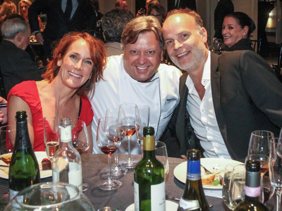 Best Cellars Wine Dinner/Laura Lasco, Mark Cox and Jerry Lasco