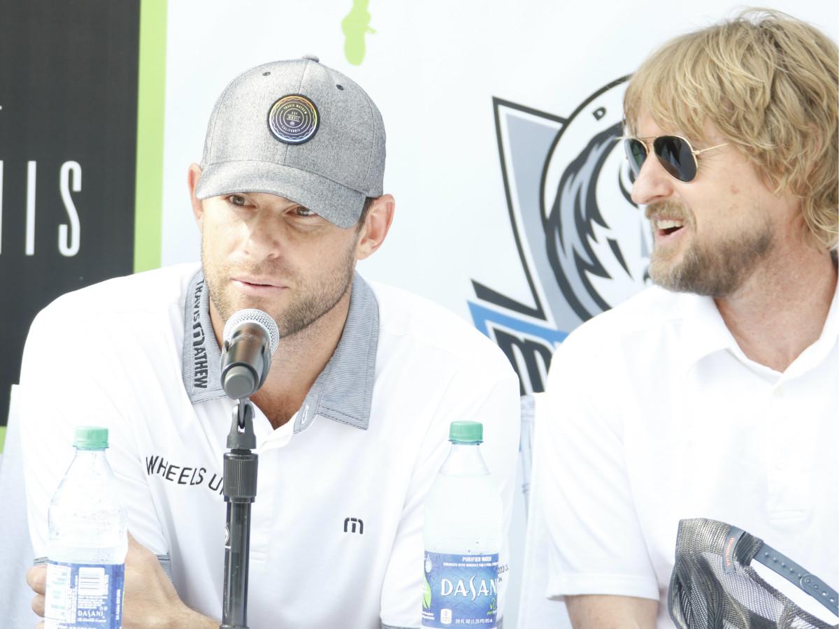 Andy Roddick, Owen Wilson