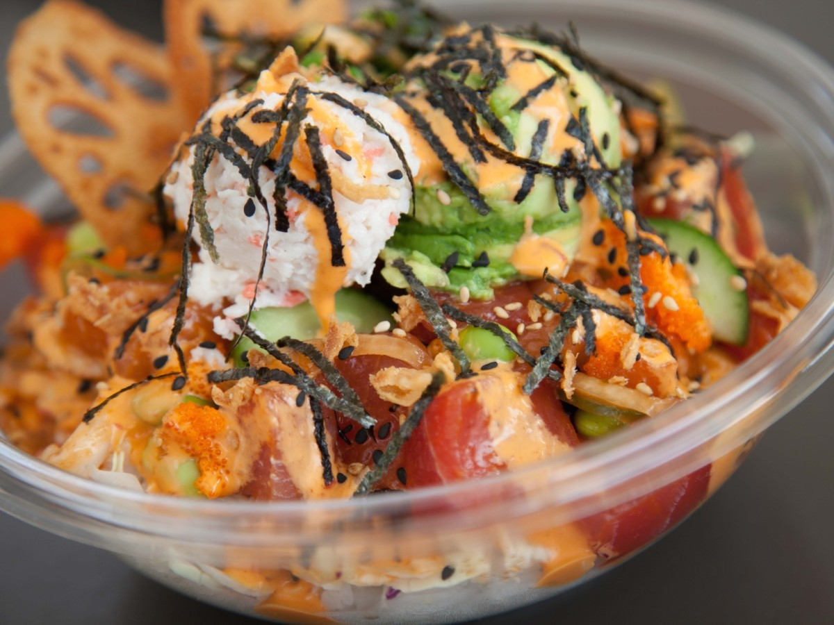 Pokeworks poke bowl