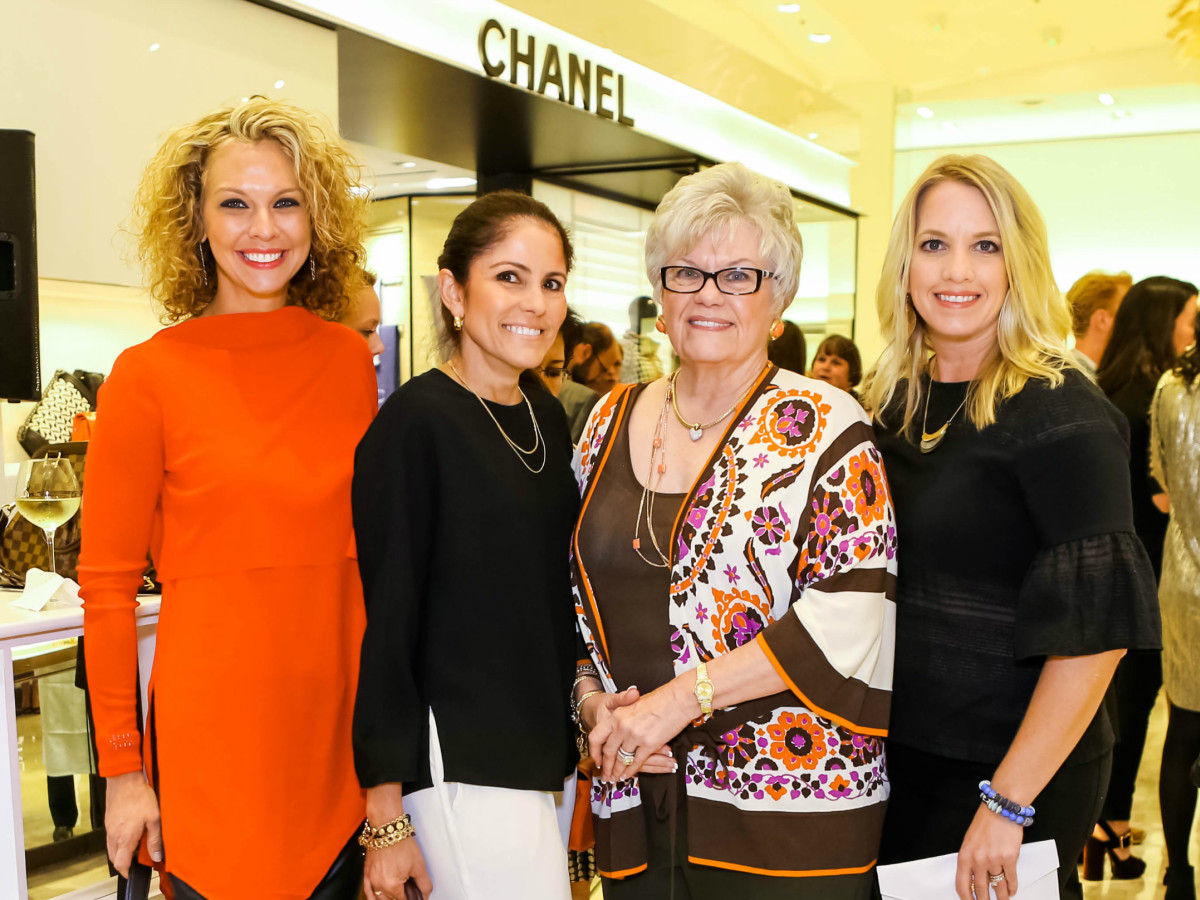Leanne Noye, Sylvia Gutierrez, Sue DeMille-Minyard, Tina Witkoff
