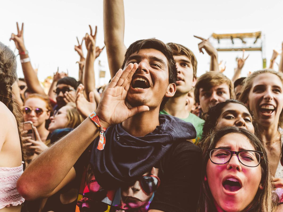 Austin City Limits Festival ACL Fest 2017 Weekend One ACL Fest Crowd