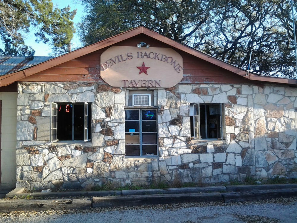 Devil's Backbone Tavern in Fischer, Texas