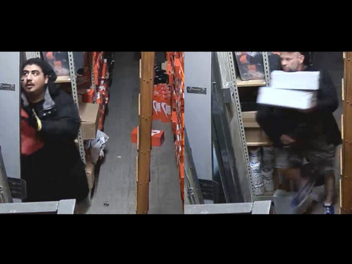 Foot Locker thieves