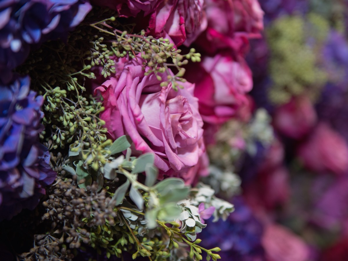 MFAH Grand Gala decor floral detail
