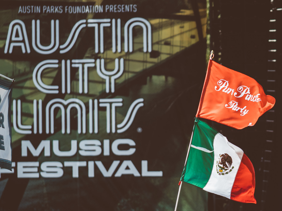 Austin City Limits Festival ACL Fest 2017 Weekend 1 Mexico International Flag