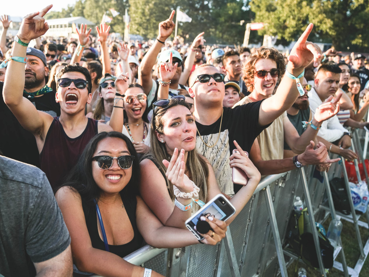 Austin City Limits Festival ACL Fest 2017 Weekend Two Foster the People Crowd