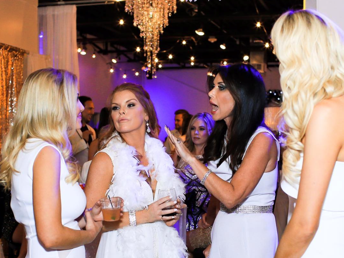 Real Housewives White Party