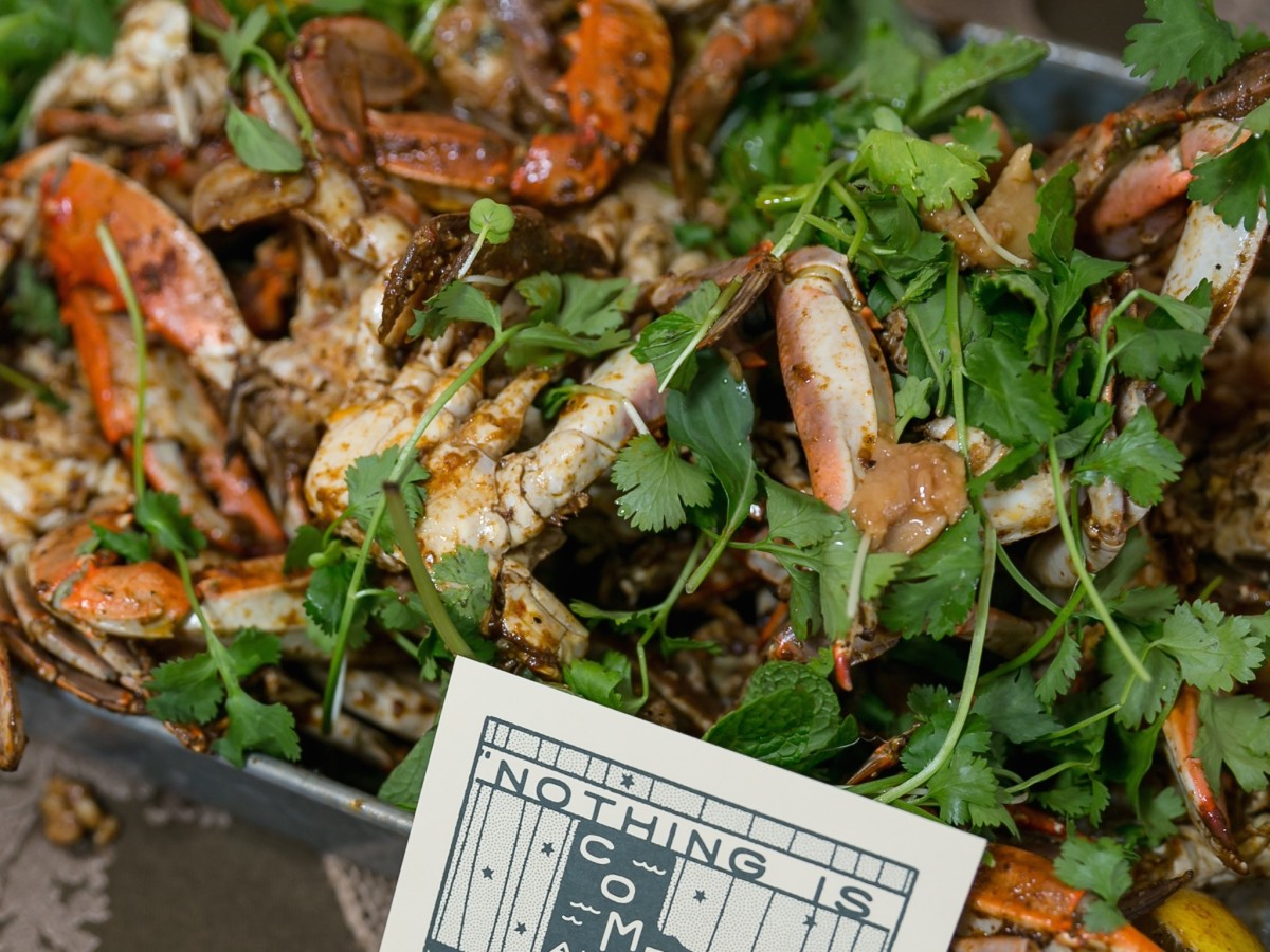 Butcher's Ball 2017 State of Grace barbecue crab