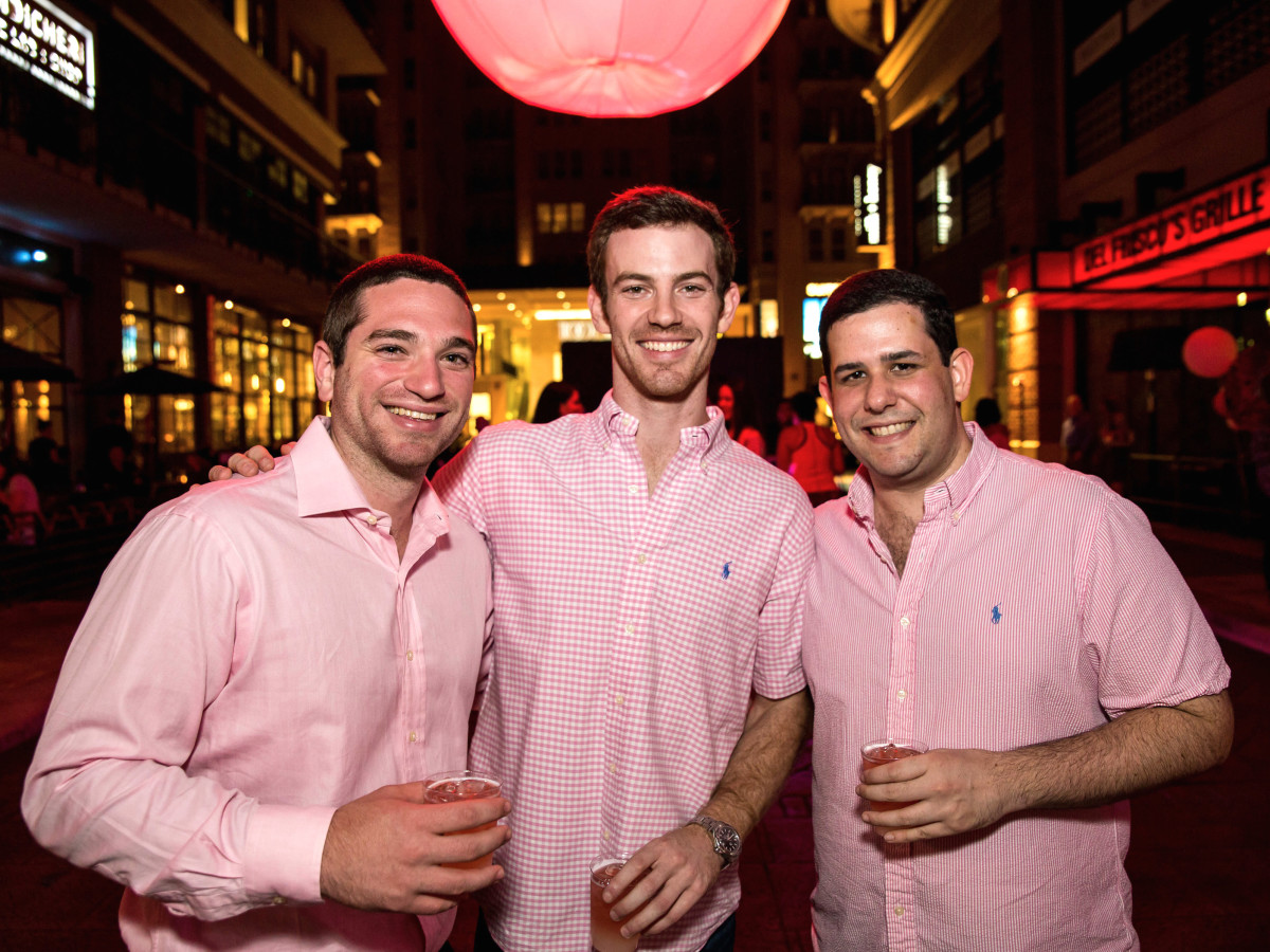Houston, Marcy, West Ave Pink Party, October 2017, Jeffrey Davidoff, Zach Stoler, Michael Cohodes