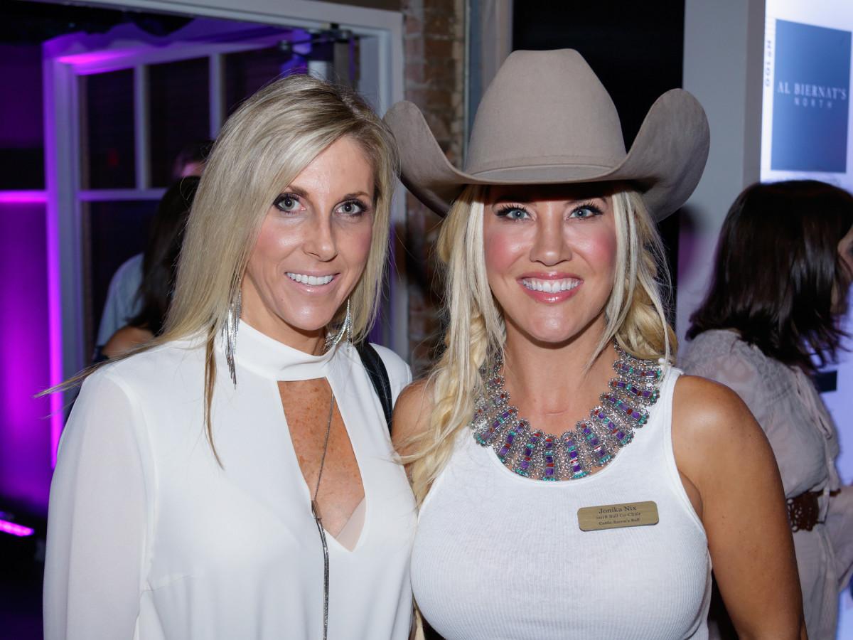 Krista Warren, Jonika Nix, Cattle Barons Ball 2017
