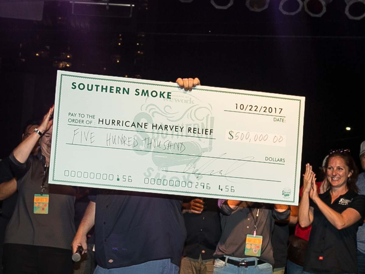 Southern Smoke 2017 check presentation