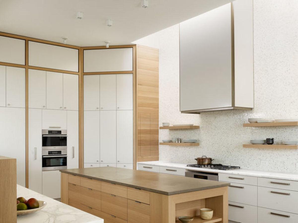 Tuscan home makeover Austin kitchen