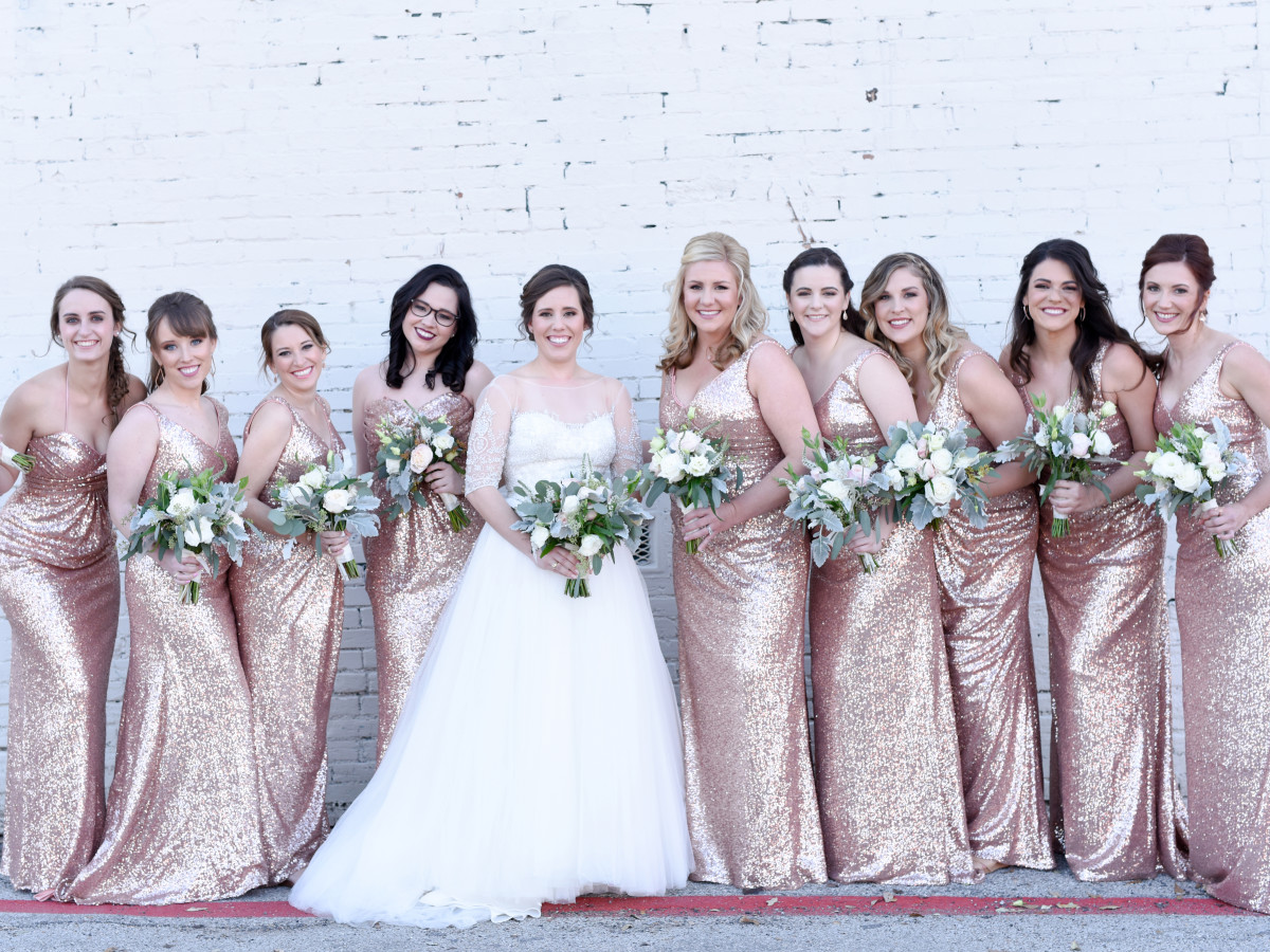 Beville Wedding, Bridesmaids