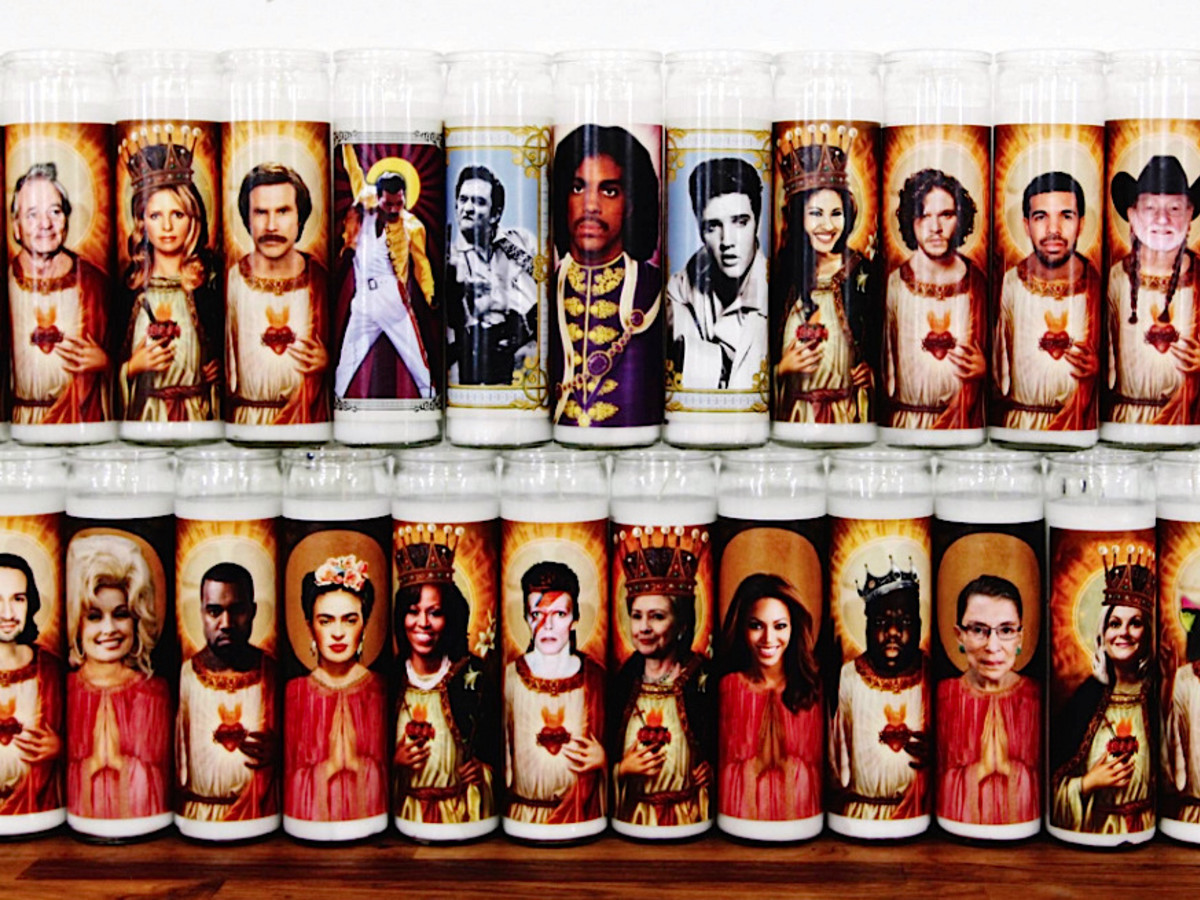 Illuminidol celebrity candles