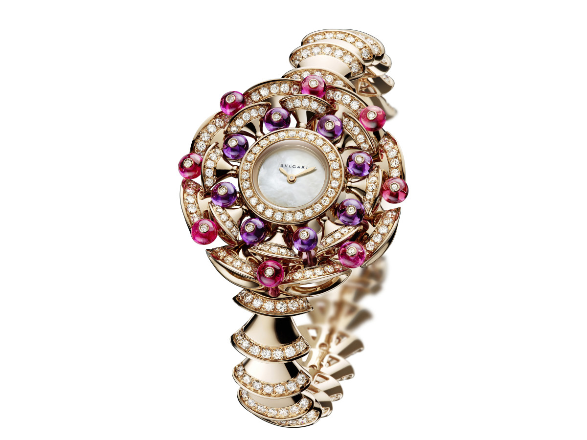 Bulgari Diva's Dream jeweled watch at Zadok