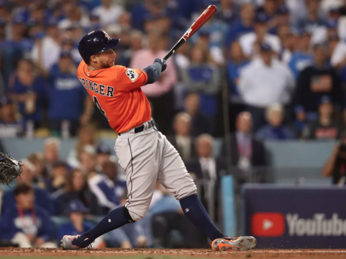 George Springer World Series Game 7