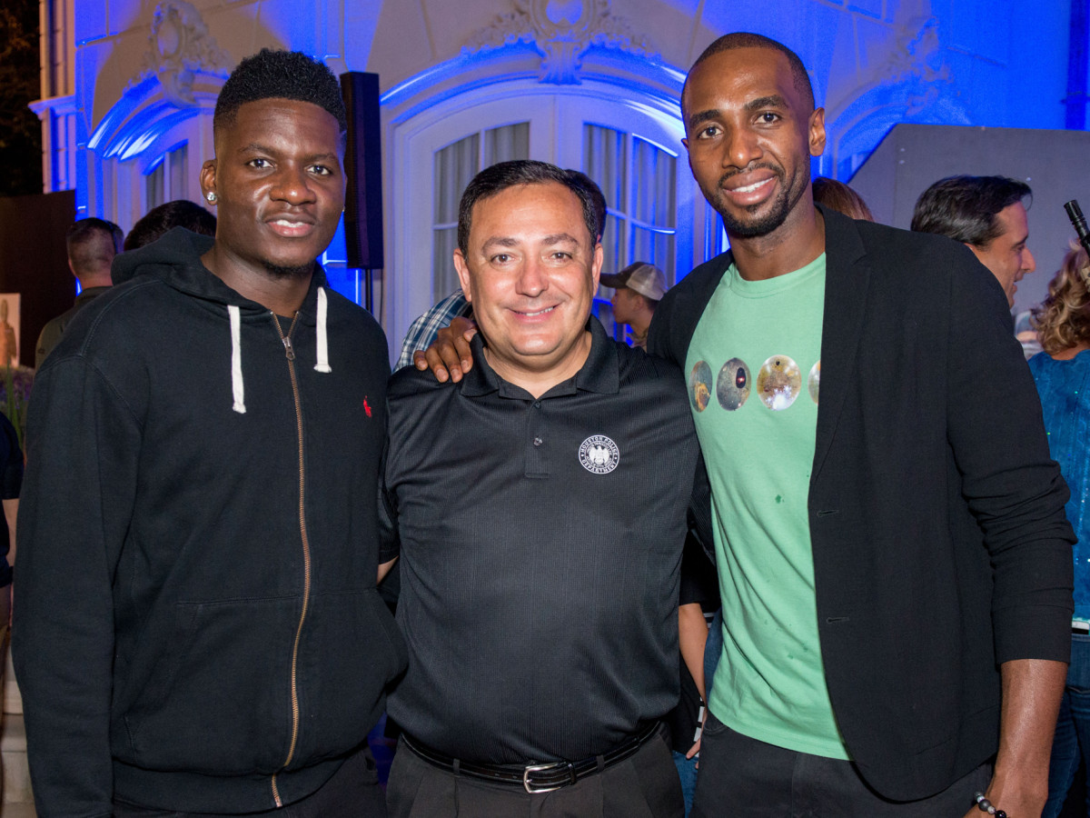 Houston, True Blue Gala, November 2017, Clint Capela, Art Acevedo, Luc Mbah A Moute.