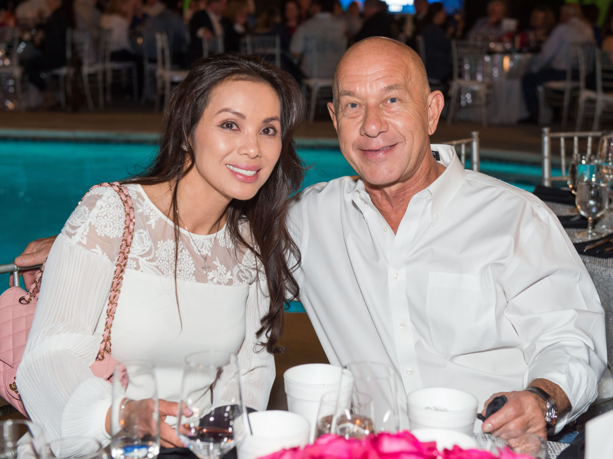 Houston, True Blue Gala, November 2017, Kimberly Ngo, John Whitmire