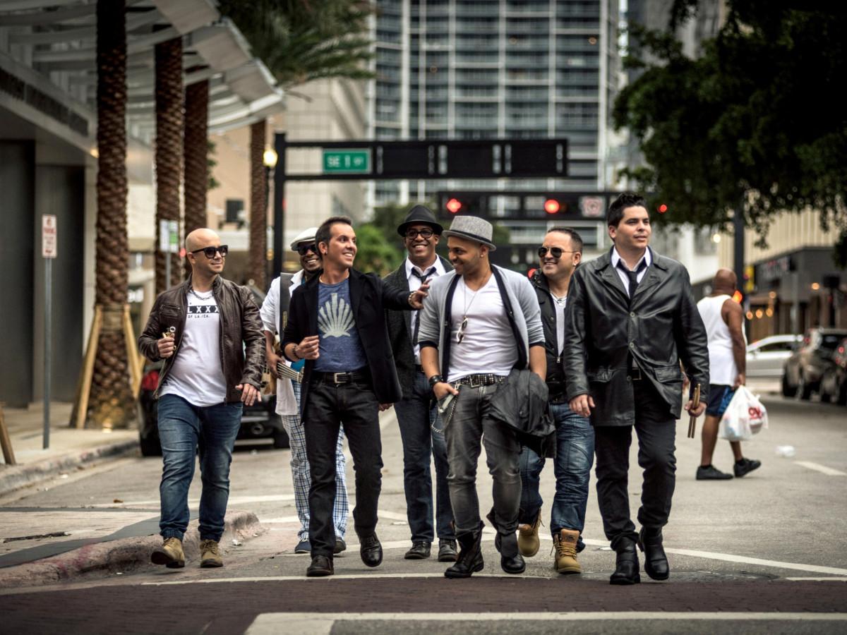 Houston, Tiempo Libre, Latin band, November 2017