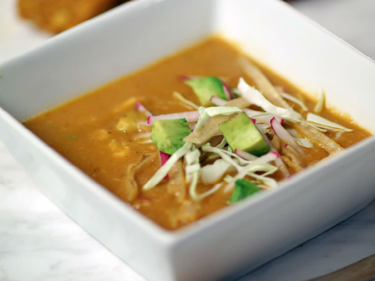 Fearing's tortilla soup