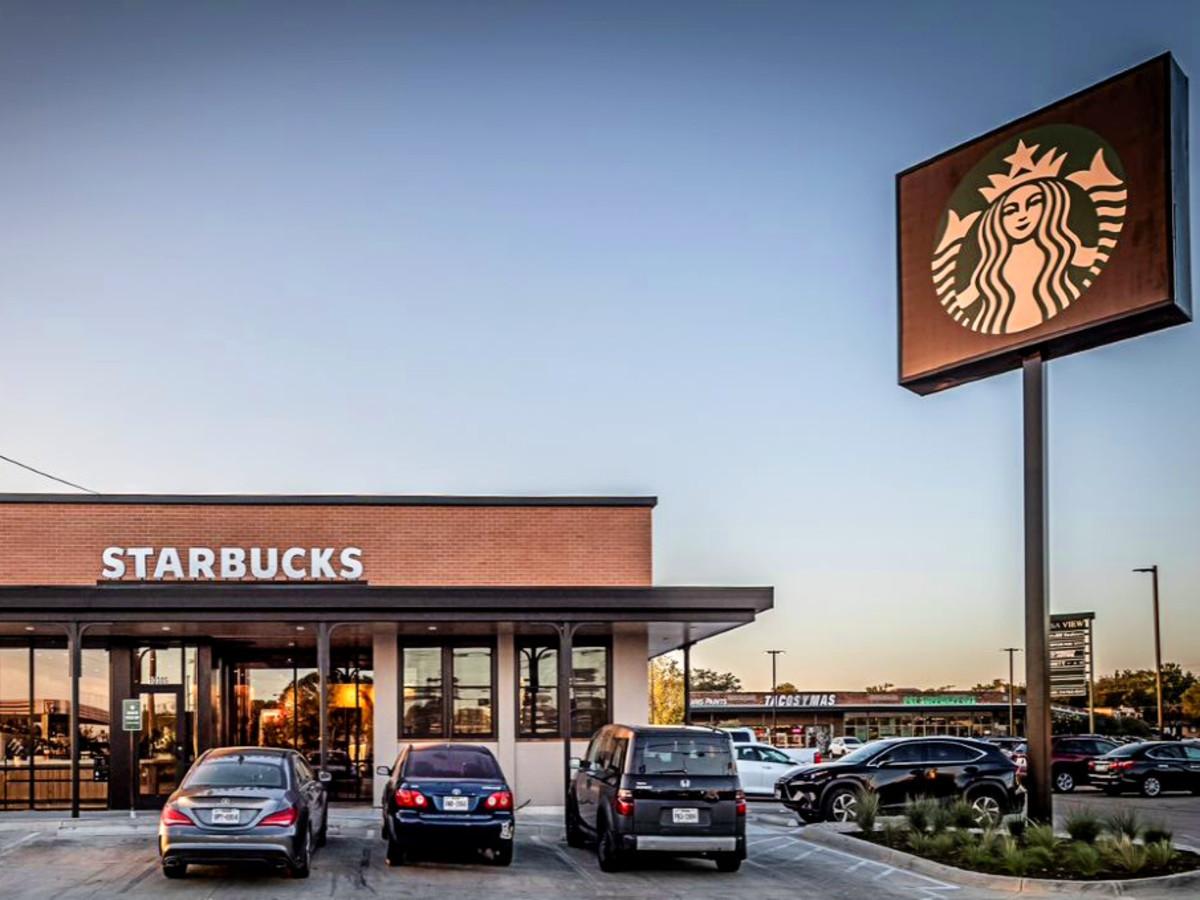 Montrose Starbucks exterior