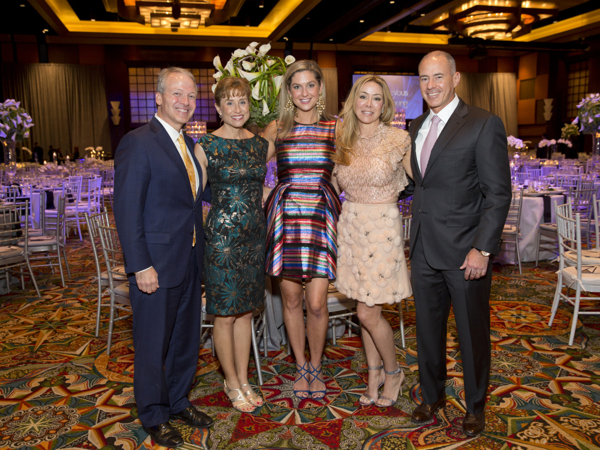 Houston, Methodist Hospital Rendezvous Live Young Gala, November 2017, Marc Boom, Julie Boom, Lisa Oren, Claudia Contreras, Roberto Contreras