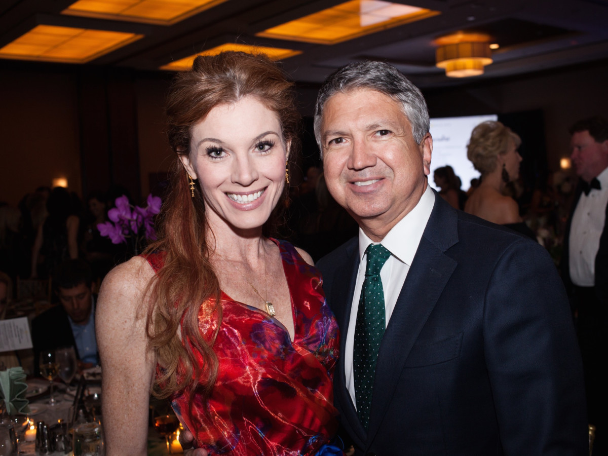 Cheryl Martin, Ron Trevino at Elijah Rising Gala