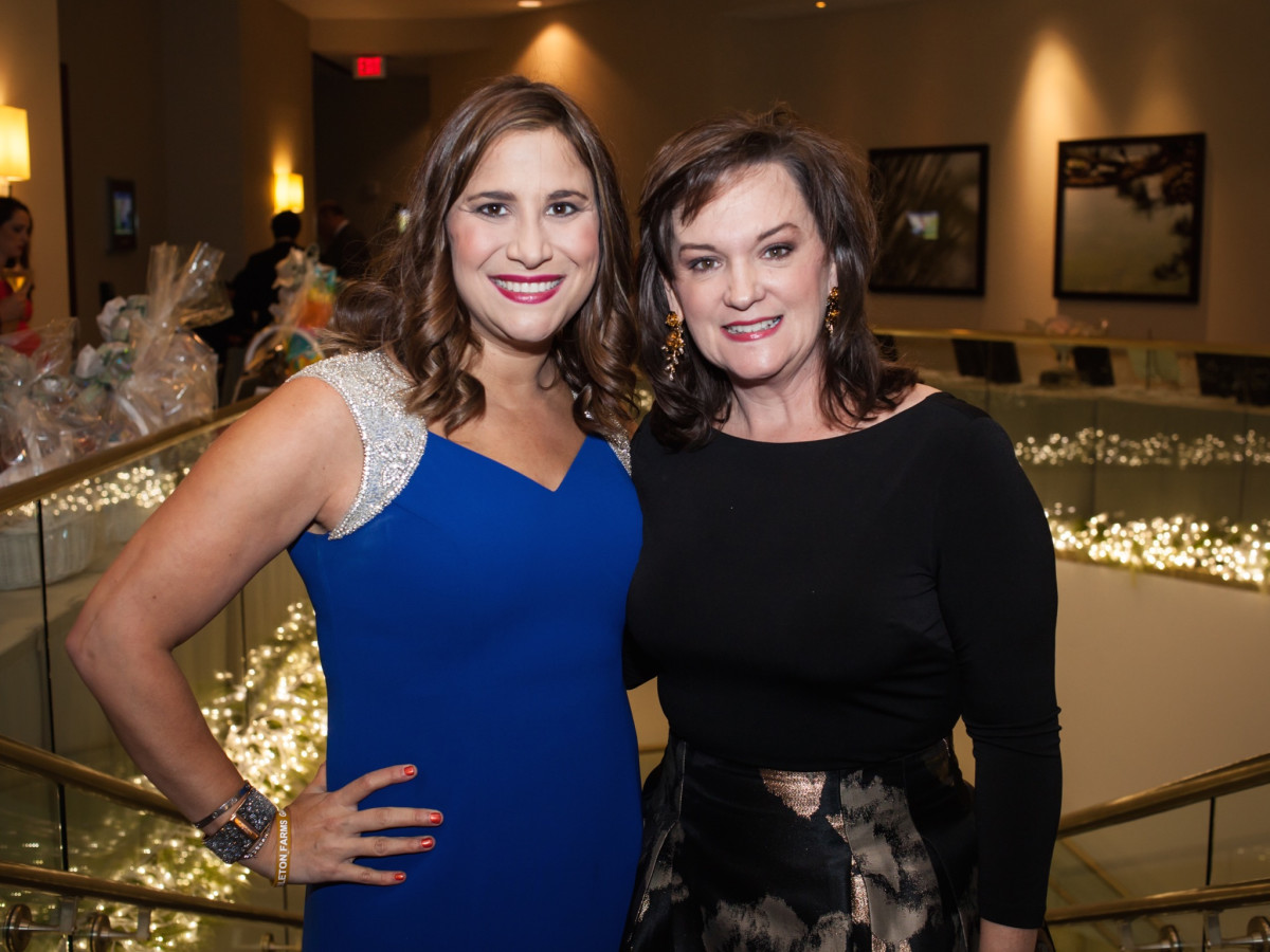 Elijah Rising Gala co-chairs Jacqueline Smooke and Kerry Stovall