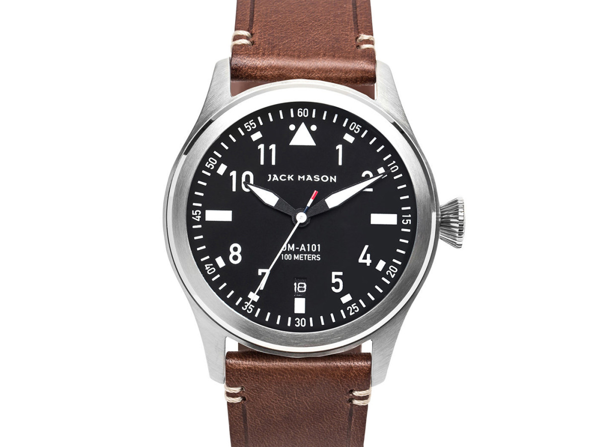 Jack Mason men's aviator watch, Holiday Pop-up 2017