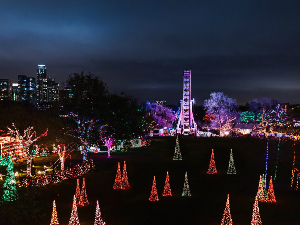 Zilker Trail of Lights