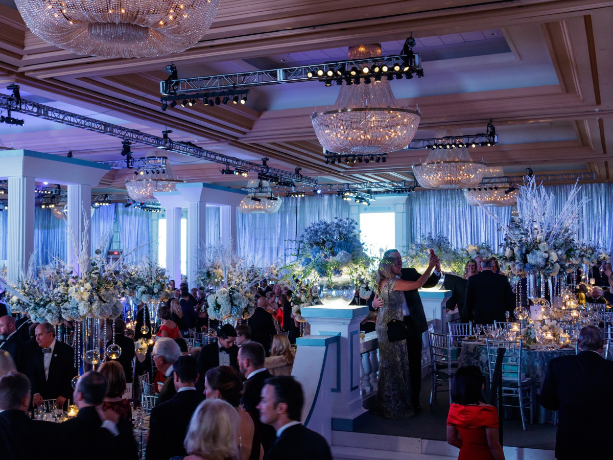 Chantilly Ballroom, Crystal Charity Ball 2017