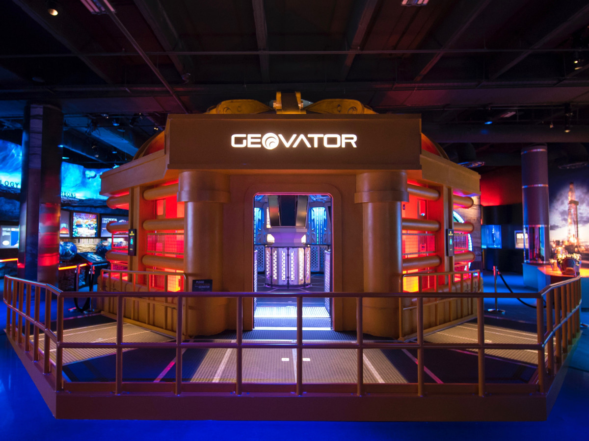 HMNS Wiess Energy Hall-Geovator