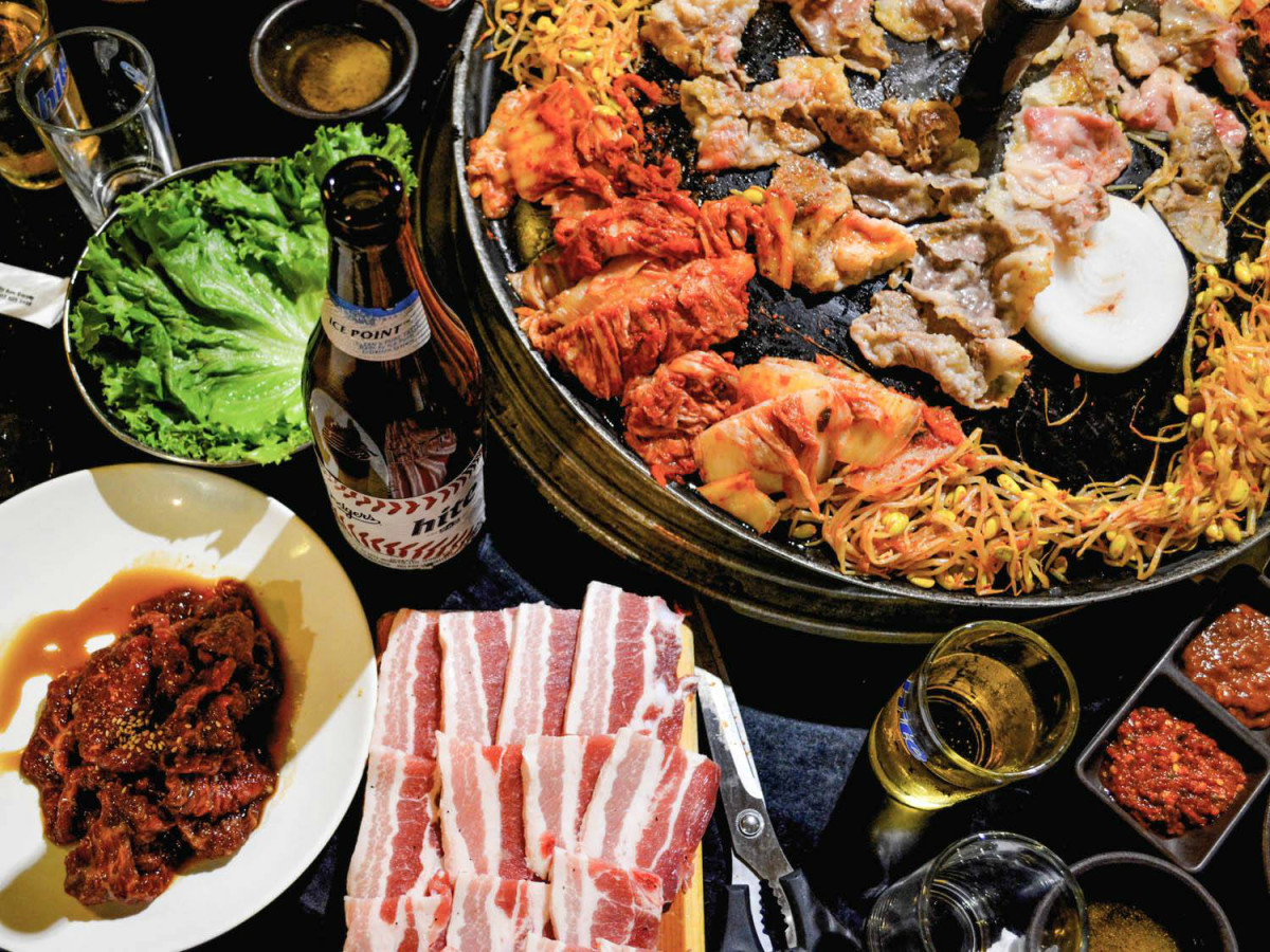 H-Mart Korean Barbecue